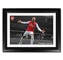 Thierry Henry V Leeds Print