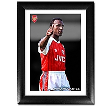 David Rocastle Thumbs Up Print