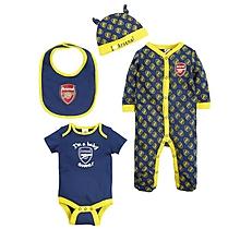 Arsenal Baby Away 4 Piece Set