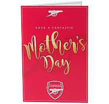 Arsenal Mothers Day Card