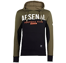 Arsenal Since 1886 Contrast Panel Hoody Khaki