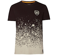 Arsenal Since 1886 Splatter Ombre T-Shirt