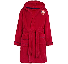 Arsenal Kids Supersoft Fleece Dressing Gown