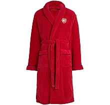 Arsenal Unisex Supersoft Fleece Dressing Gown