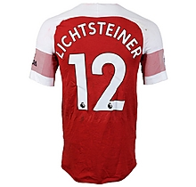 Prem League Match Worn Shirt V Man City - Lichtsteiner