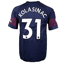 Prem League Match Worn Shirt V Huddersfield - Kolasinac