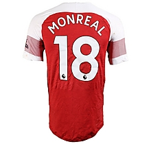 Prem League Match Worn Shirt V Bournemouth - Monreal
