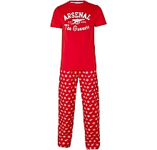 Arsenal Adult Cannon Snowflake Pyjamas
