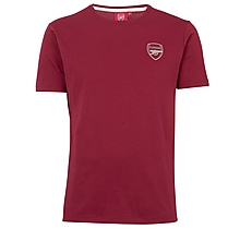 Arsenal Essentials Crew T-Shirt Red