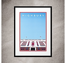 Arsenal Highbury Print