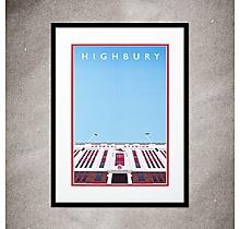 Arsenal Highbury Print