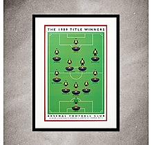 Arsenal 1989 Winners Print