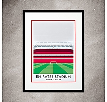 Arsenal Contemporary Emirates Print