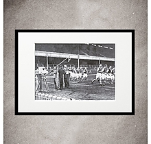 Arsenal Televised Football Print