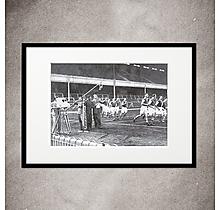 Arsenal Televised Football Print