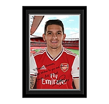 Arsenal Personalised Torreira Photo Frame