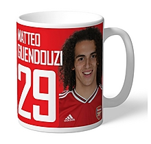Arsenal Personalised Guendouzi Mug