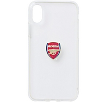 Arsenal iPhone X Clear Case