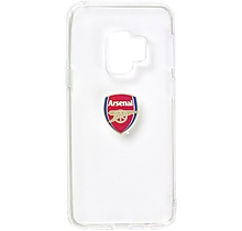 Arsenal Samsung S9 Clear Case