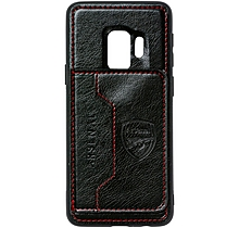 Arsenal Samsung S9 Leather Case