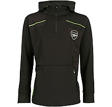 Arsenal Leisure 1/4 Zip Panel Tricot Hoody