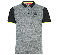 Arsenal Leisure Marl Polo Shirt