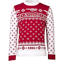 Arsenal Adult Christmas Cannon Jumper