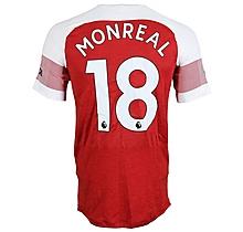 Prem League Match Worn Shirt V Everton - Monreal