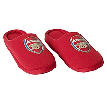 Arsenal Mens Crest Slippers