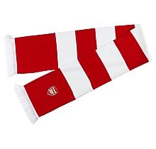 Arsenal Ribbed Bar Scarf
