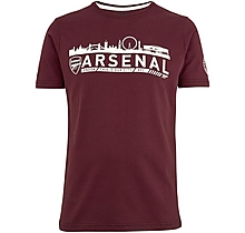 Arsenal Since 1886 London Skyline T-Shirt