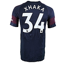 Prem League Match Worn Shirt V Wolves - Xhaka