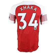 Prem League Match Worn Shirt V Leicester- Xhaka