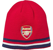 Arsenal Junior Reversible Crest Beanie