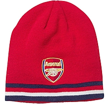 Arsenal Leisure Reversible Crest Beanie