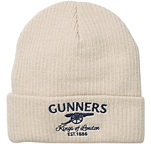 Arsenal Gunners Fine Ribbed Beanie