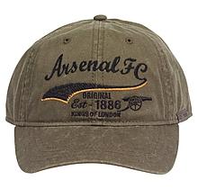 Arsenal Khaki Script Cap