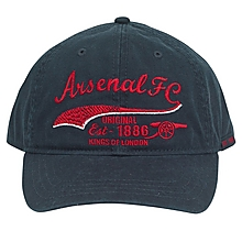 Arsenal Since 1886 Navy Script Cap