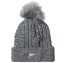 Arsenal Essentials Cable Knit Bobble hat