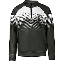 Arsenal Leisure Geo Print 1/4 Zip Top