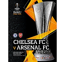 Arsenal UEL Final Programme