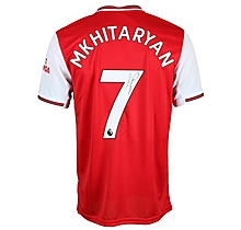 19/20 Mkhitaryan Boxed Signed Shirt