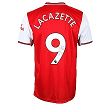 19/20 Lacazette Boxed Signed Shirt