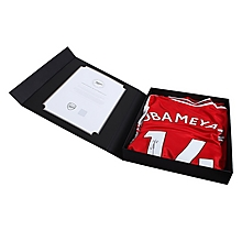 19/20 Aubameyang Boxed Signed Shirt