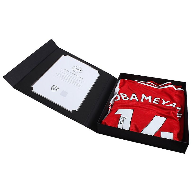 19/20 Aubameyang Boxed Signed Shirt