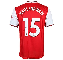 19/20 Maitland-Niles Boxed Signed Shirt