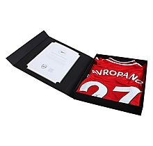 19/20 Mavropanos Boxed Signed Shirt