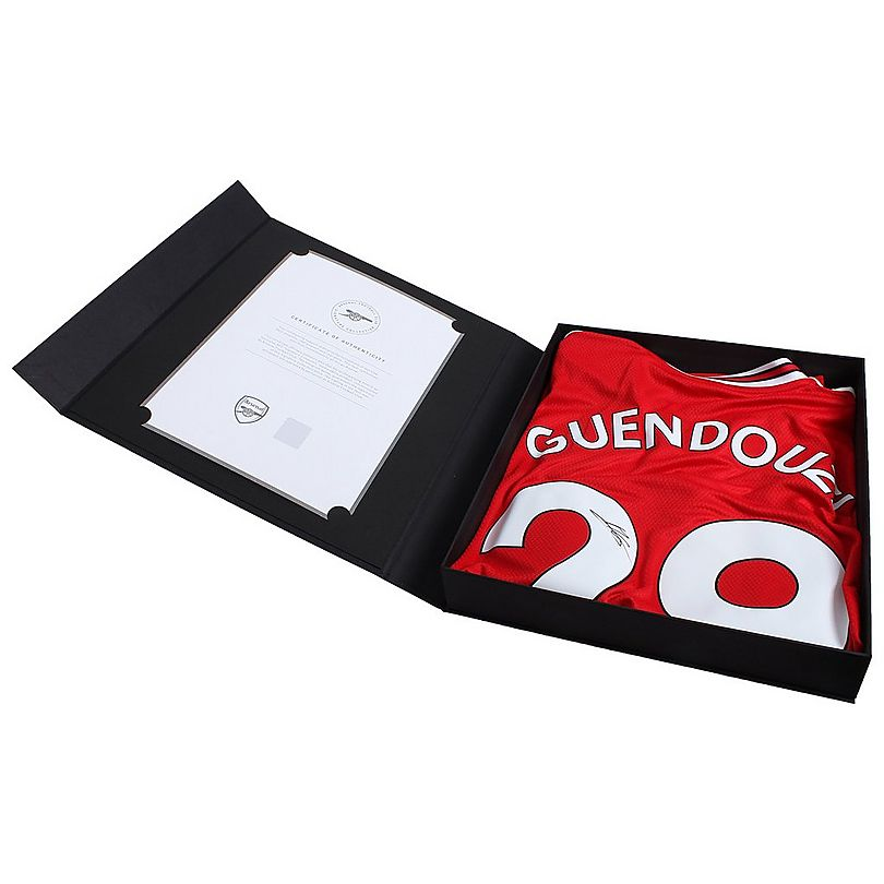 19/20 Guendouzi Boxed Signed Shirt
