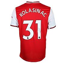 19/20 Kolasinac Boxed Signed Shirt