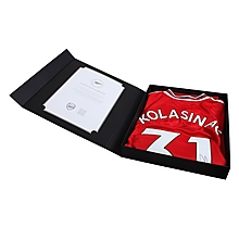 19/20 Kolasinac Boxed Signed Shirt